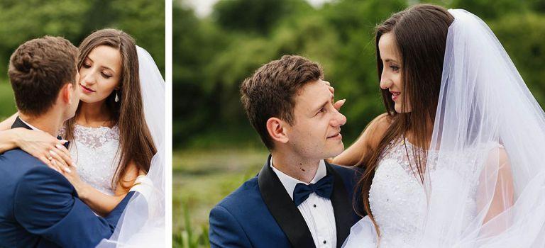 plenerowa sesja ślubna w Arboretum Bolestraszyce