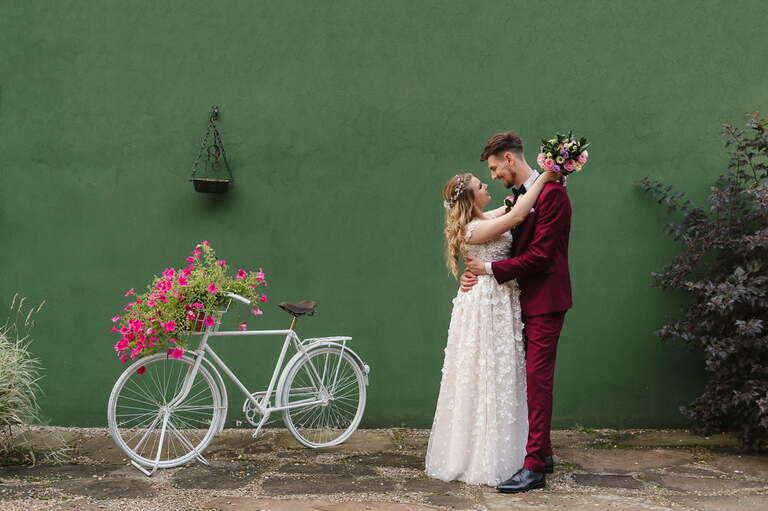 miejsca na sesję ślubną - sesja zdjęciowa w dniu ślubu
