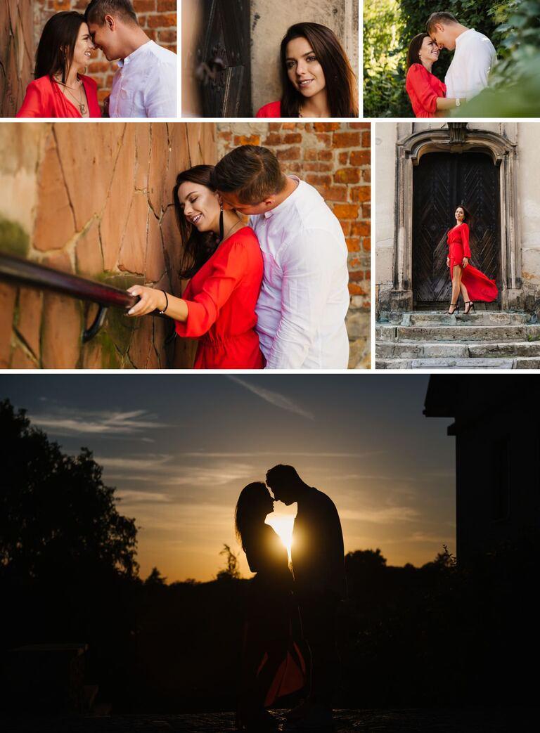 sesja narzeczeńska jako przedślubna sesja zdjęciowa